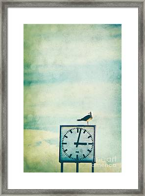 Time Watcher Framed Print by Angela Doelling AD DESIGN Photo and PhotoArt