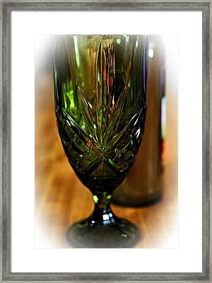 Timeless Glassware Framed Print by See My  Photos