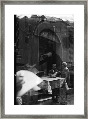 Timeless Rome Framed Print by Becky Kozlen