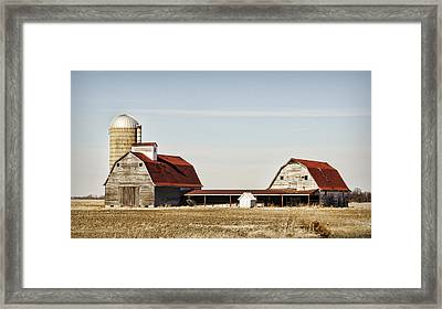 Timeless Twosome Framed Print by Cricket Hackmann