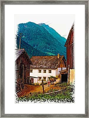 Timeless Vignette Version Framed Print by Steve Harrington