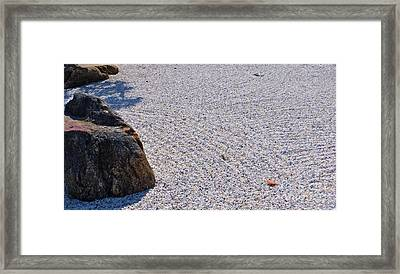 Timeless Zen Framed Print by Joy Hardee