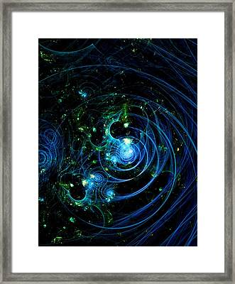 Timey Wimey Framed Print by Burtram Anton