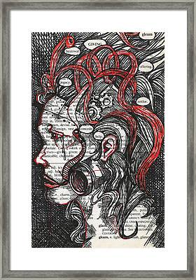 Tin Woman Framed Print by Stacey Pilkington-Smith