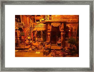 Tinkertown Framed Print by Jeff Swan