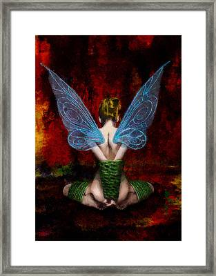 Tink's Fetish Framed Print by Christopher Lane