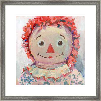 Tiny Anne II Framed Print by Kimberly Santini