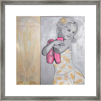 Tiny Dancer Framed Print by Darlene Graeser