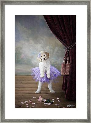 Tiny Dancer Framed Print by Lisa Jane