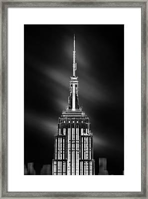 Tip Of The World Framed Print by Az Jackson