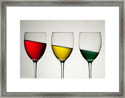 Tipple Framed Print by AJM Photography