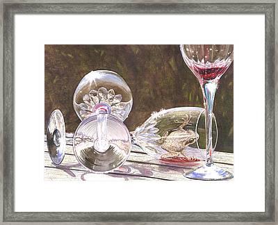 Tipsy Framed Print by Catherine G McElroy