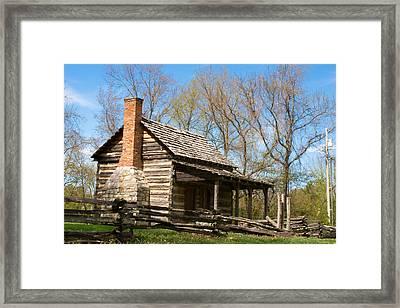 Tipton Hayes Cabin 17 Framed Print by Douglas Barnett