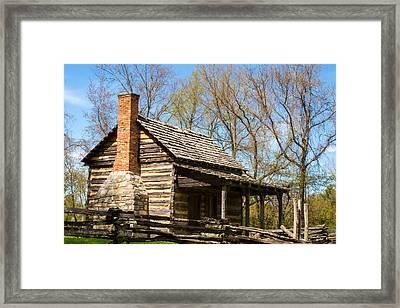Tipton Hayes Cabin 2 Framed Print by Douglas Barnett