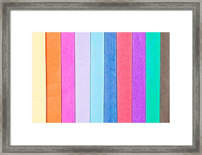Tissue Paper Framed Print by Tom Gowanlock