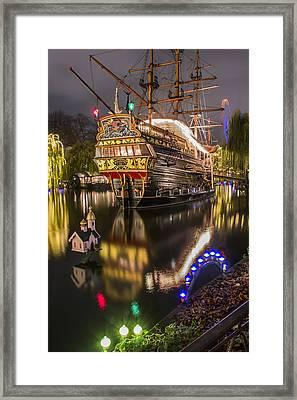 Tivoli By Night Framed Print by Carol Japp