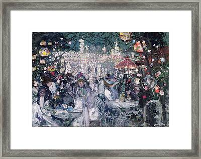 Tivoli Gardens Framed Print by James Kay