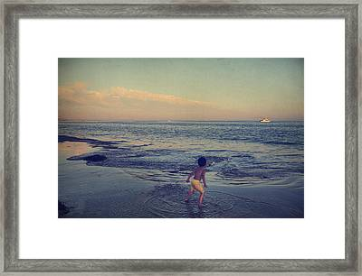 To Be Young Framed Print by Laurie Search