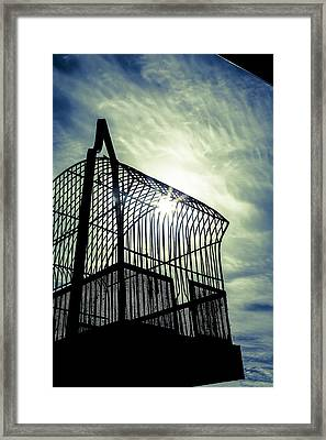 To Catch The Light Framed Print by Caitlyn  Grasso