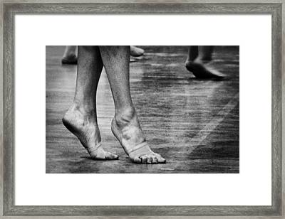 To Dance Framed Print by Caitlyn  Grasso