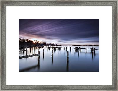To Every End There Is A Beginning Framed Print by Edward Kreis