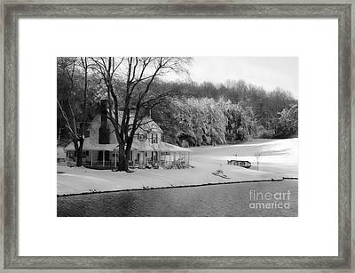 To Grandmother's House We Go Framed Print by Benanne Stiens