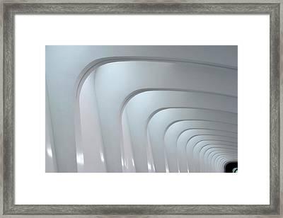 To Infinity Framed Print by Chuck De La Rosa