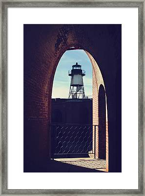 To Light The Way Framed Print by Laurie Search