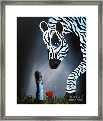 To Love Is To Be Loved By Shawna Erback Framed Print by Shawna Erback