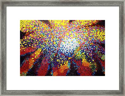 To Make Visible The Invisible Viii Framed Print by John  Nolan