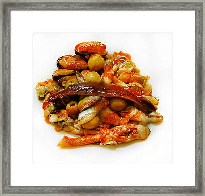 To Nibble Framed Print by Gina Dsgn