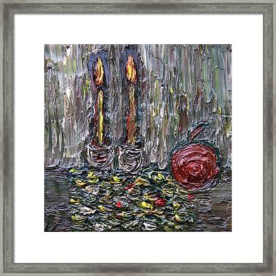 To Prosperity Good Health And Happiness Framed Print by Vadim Levin