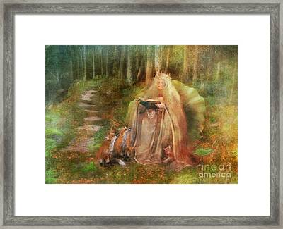 To Spin A Tale Framed Print by Aimee Stewart