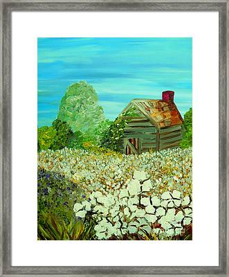 To The Edge Framed Print by Eloise Schneider