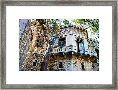 To The Manor Born Framed Print by Eleni Mac Synodinos