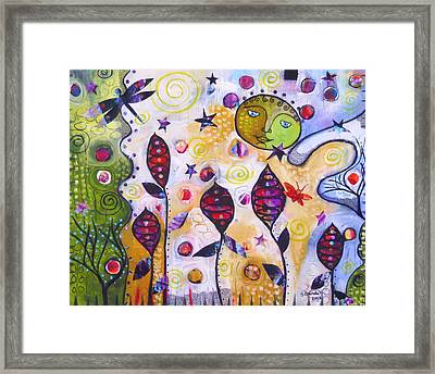To The Moon And Back Framed Print by Shannon Crandall