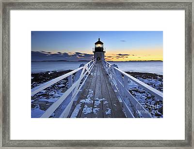 To The Point Framed Print by Katherine Gendreau