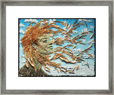 To The Wind Framed Print by Adam Long