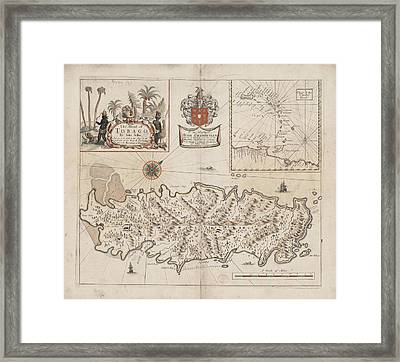 Tobago Framed Print by British Library
