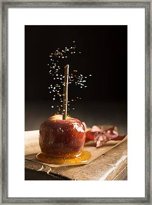 Toffee Apple Framed Print by Amanda And Christopher Elwell