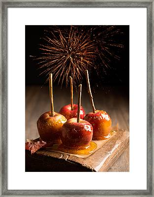 Toffee Apples Group Framed Print by Amanda And Christopher Elwell