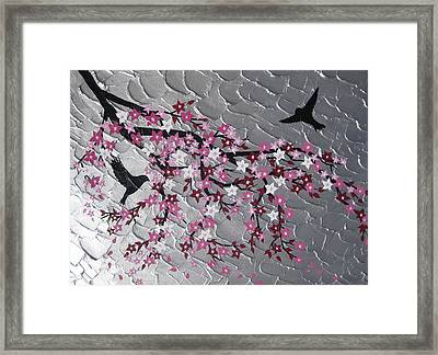 Together Framed Print by Cathy Jacobs