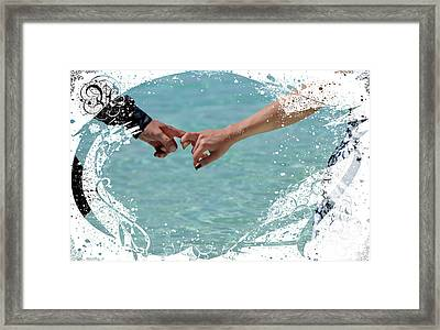 Together Forever Framed Print by Jenny Rainbow