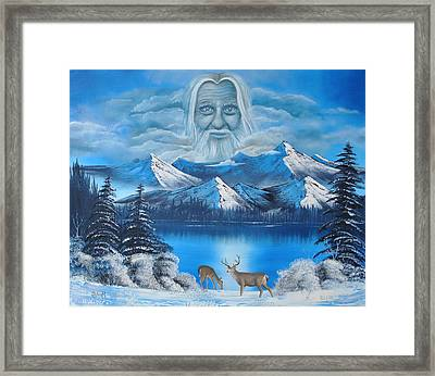Together In Colorado Framed Print by Surreal World