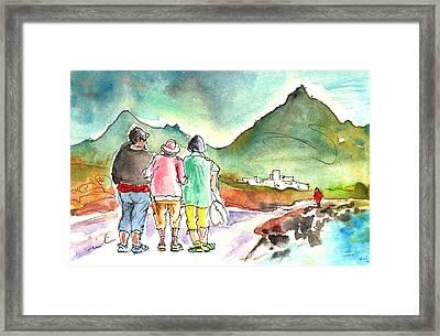 Together Old In Tenerife 04 Framed Print by Miki De Goodaboom