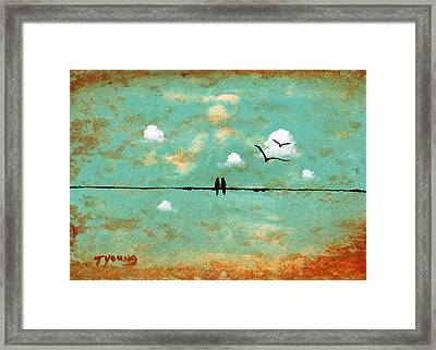 Together Framed Print by Todd Young