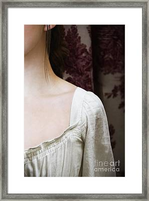 Toile Framed Print by Margie Hurwich