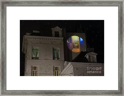 Toilet In Technicolor Framed Print by Juli Scalzi