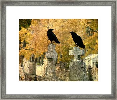 Told You So Framed Print by Gothicolors Donna Snyder