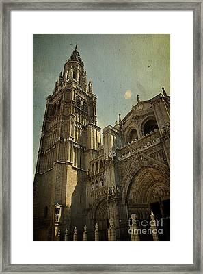 Toledo Cathedral Framed Print by Ivy Ho